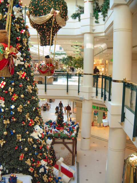 bromley  glades shopping mall  christmas