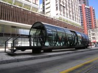 Curitiba bus stop - 'tube station'