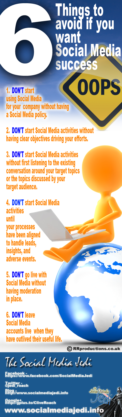 6 things to avoid if you want Social Media success