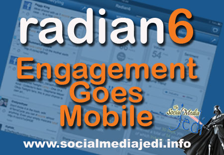 Radian6 engagement goes mobile