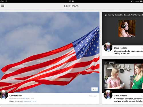 Google plus on the ipad