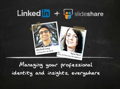 Slideshare acquired by Linkedin