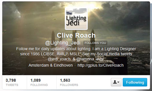 Twitter header image - Lighting Jedi