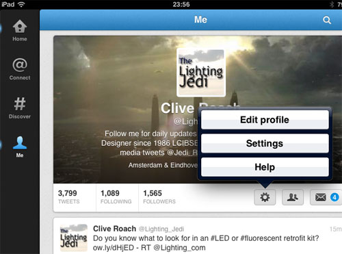 Twitter header image - iPad